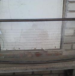 Стекло заднее ваз 2106