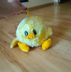 Soft toy chicken