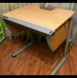 School desk Moll + Moll chair
