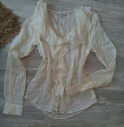 Блуза з шовку GANT