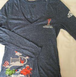 Adidas Σετ 2 μπλουζάκια