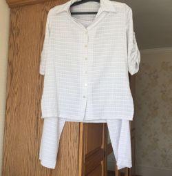 Summer costume for pregnant women. Very easy
