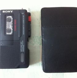 cassette player-recorder Sony