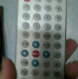 Remote for CAR DVD