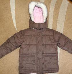 Очень теплая курточка. 110-116 см.