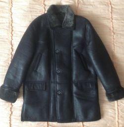 ❄New sheepskin coat