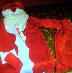 ? Santa Claus costume Red Santa red, inexpensive in