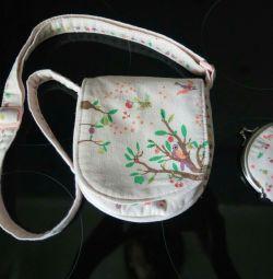 Bag and wallet for girls Summer Garden GJECO