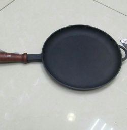 Pancake cast iron 24cm.