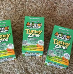 Natures вітаміни дитячі Animal Parade tummy zyme