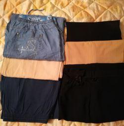 Pantaloni de diferite dimensiuni