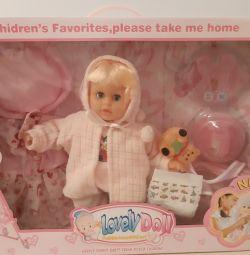 Κούκλα με αξεσουάρ