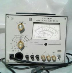 Voltmeter universal V 7-26