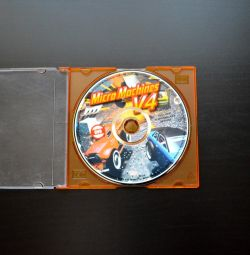 Disk for the computer with the game of the Micro Machine 4