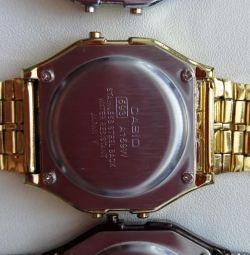 Casio a159w gold watch