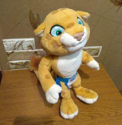 М'яка іграшка леопард сочи 2014