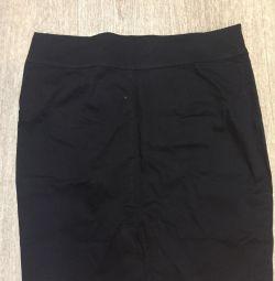 Чeрная юбка