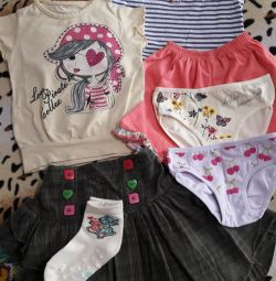 Things package for a girl 1-2 years old.