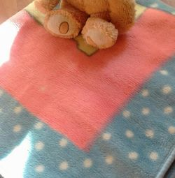 Baby blanket, 100 cm * 114cm