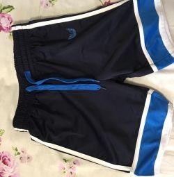 Shorts on the boy size 140-146