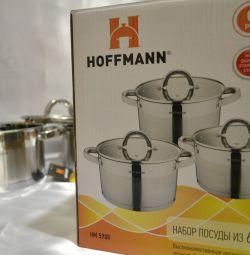 Набор Hoffmann!!! Подходящий под все виды плит!