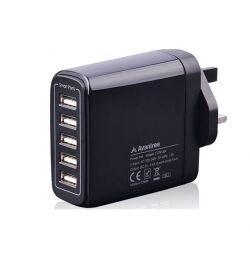 Avantree POWERTREK 5 USB Wall Charger 9.6A