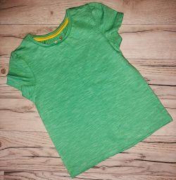 1-1,5 yaşındaki kız için Tişört Tu