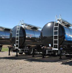 The semi-trailer tank Bonum bitumen - 28 m3