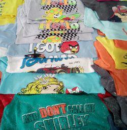 T-shirts νέα