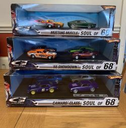 Hot Wheels Soul of 68' Collection