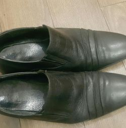 Shoes, men's Italy leather