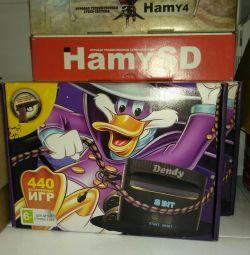 Consola de jocuri Dandy 440 de jocuri cu un pistol