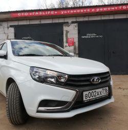 Propane 4 generations Vaz Lada Vesta GBO installation