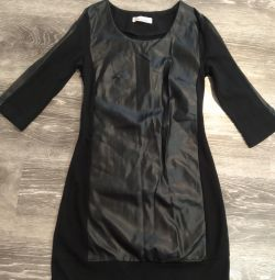 Dress leather size s
