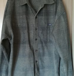 Рубашка тёплая Linshehg , р-50.