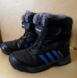 Χειμερινές μπότες για παιδιά, μεγέθους 31