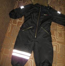 Branded winter overalls