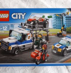Lego City 60143, box, instruction, all details