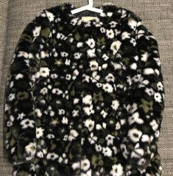 Noua haină de blană artificială Michael Kors originală