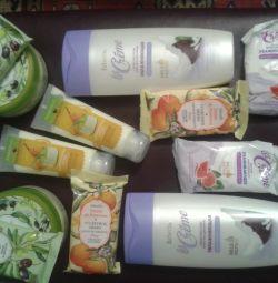 Cadouri de Anul Nou-cosmetice. produse faberlik