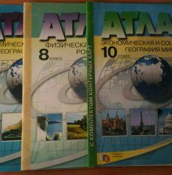 Atlases 8,9,10 cells.