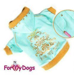 Кофта зелена (одяг для собак)