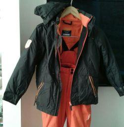 Χειμερινές φόρμες και σακάκι ηλικίας 6-8 ετών