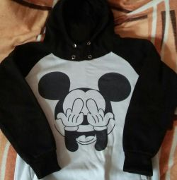 Ceket Mickey Mouse ile sıcak