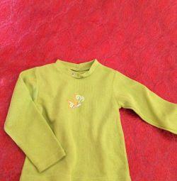 Bluza tricotata pe fata pe spate 41 cm