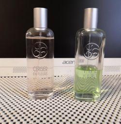 Eau de Toilette, Yves Rocher, originals for both fragrances