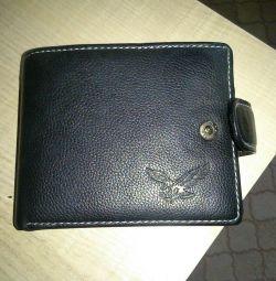 Μαύρο πορτοφόλι