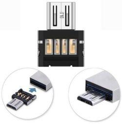 OTG Adaptörü USB MicroUSB Adaptörü Malloom