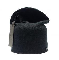 Zipper Transformer Hat (Black)