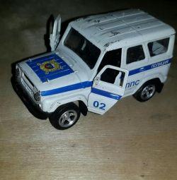 Model car UAZ DPS